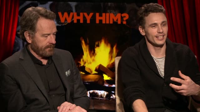 Bryan Cranston has a hard time accepting James Franco as his future soninlaw in the new comedy film Why Him