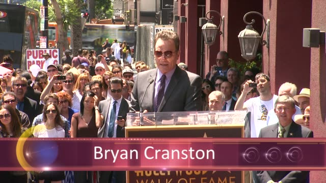 CHYRON Bryan Cranston Honored With Star On The Hollywood Walk Of Fame EVENT CAPSULE CHYRON Bryan Cranston Honored With at Hollywood Walk Of Fame on...