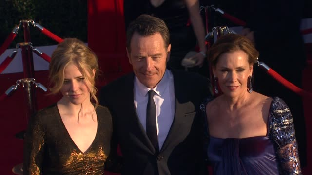 Bryan Cranston Robin Dearden at 18th Annual Screen Actors Guild Awards Arrivals on 1/29/12 in Los Angeles CA