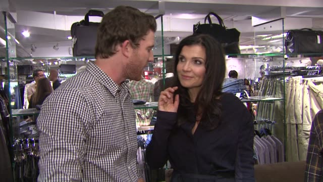 Bryan Greenberg and Ali Hewson at the Bloomingdale's Celebrates Fashion Night Out 2011 at New York NY