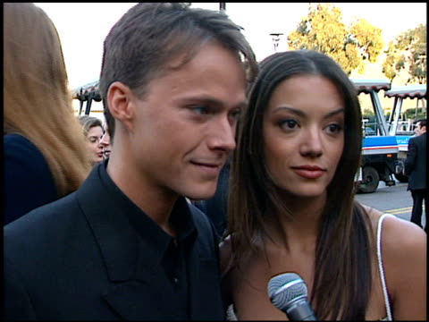 bryan white at the soap opera digest awards entrances at universal studios in universal city, california on february 26, 1999. - soap opera stock videos & royalty-free footage
