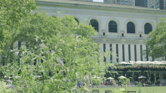 Bryant Park Establishing Shot