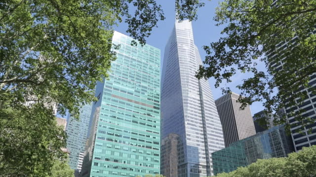 bryant park, manhattan, new york city, new york, usa, north america - bryant park stock videos & royalty-free footage