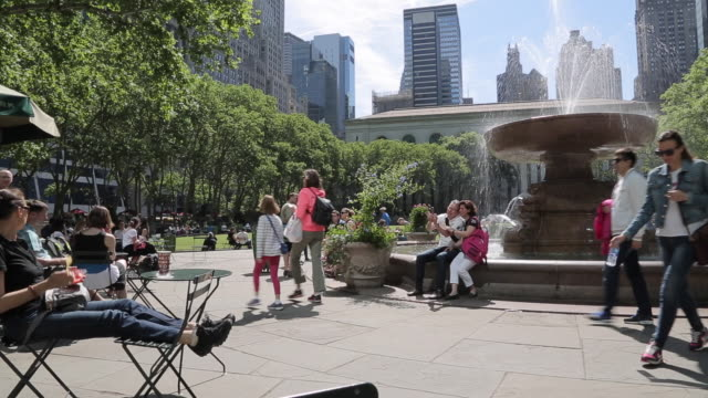 Bryant Park, Manhattan, New York City, New York, USA, North America