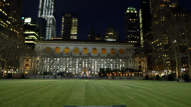 bryant park meadow. new york public library - bryant park stock videos & royalty-free footage