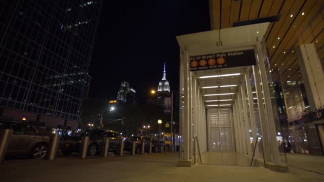 bryant park/esb - bryant park stock videos and b-roll footage
