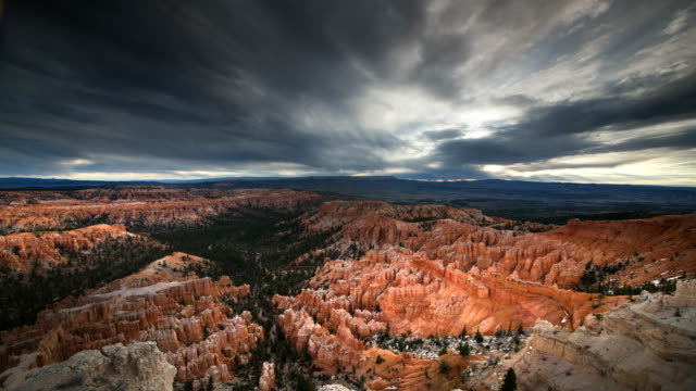 bryce amphitheater - bryce canyon stock videos and b-roll footage