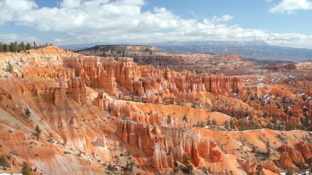 bryce canyon landscape - bryce canyon stock videos and b-roll footage
