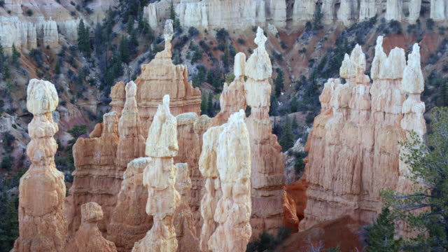 Bryce Canyon rock and sand structures