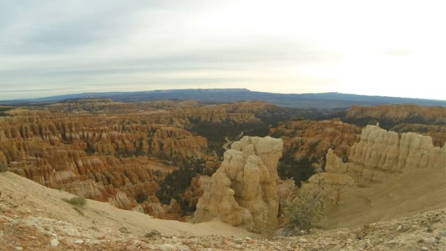 bryce canyon time lapse - bryce canyon stock videos and b-roll footage