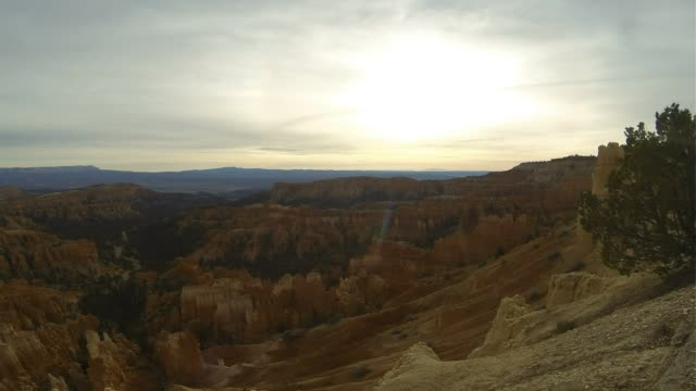 bryce canyon time-lapse - bryce canyon stock videos and b-roll footage