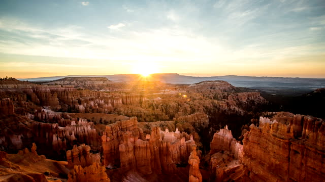 stockvideo's en b-roll-footage met bryce canyon timelapse - steen rots