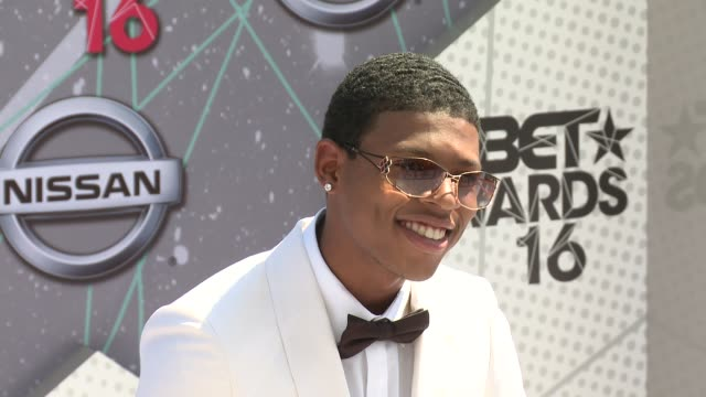 Bryshere Y Gray at 2016 BET Awards in Los Angeles CA