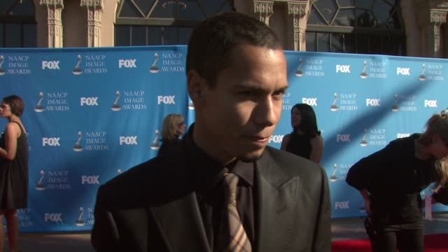 Bryton McClure of 'The Young and the Restless' on the event celebrating diversity and Valentine's Day at the 39th Annual NAACP Image Awards at the...