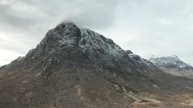 buachaille etive mor in glen coe and glen etive. - wilderness stock videos & royalty-free footage