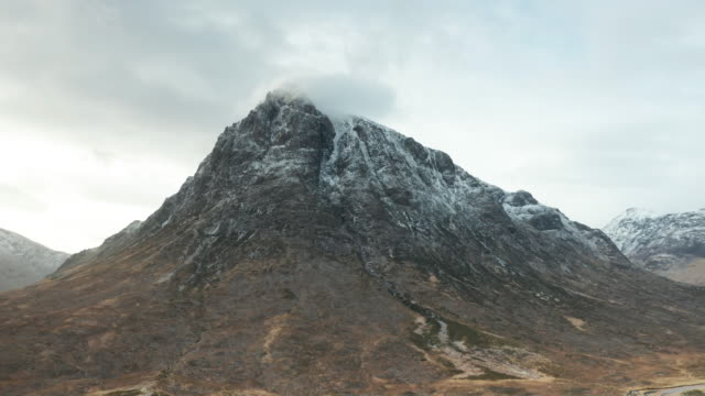 buachaille etive mor in glen coe and glen etive. - national park stock videos & royalty-free footage