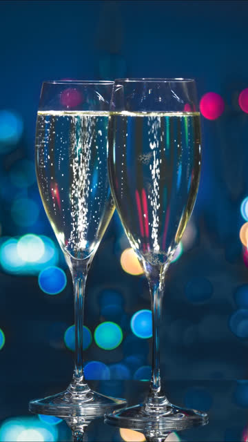 bubbles in champagne - still life stock videos & royalty-free footage