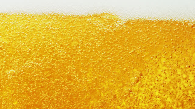 bubbles in lager beer - lager stock videos & royalty-free footage