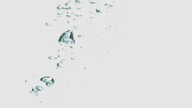 bubbles loopable - water stock videos & royalty-free footage