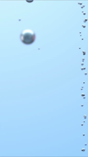 bubbles that go back to the opening of the drink - surfacing stock videos & royalty-free footage