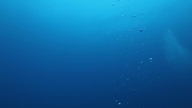 泡  - 水中点の映像素材/bロール