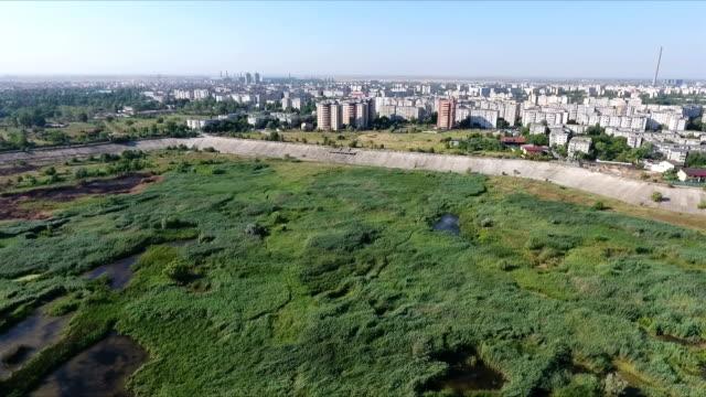 Bukarest vilda våtmark antenn