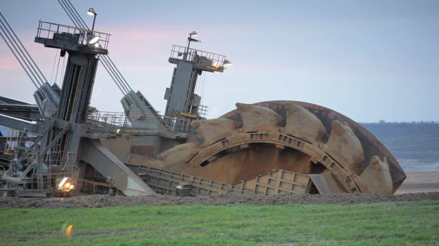 bucket wheel - quarry stock videos & royalty-free footage