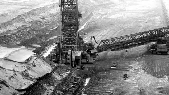 バケット輪 excavator - 炭鉱点の映像素材/bロール