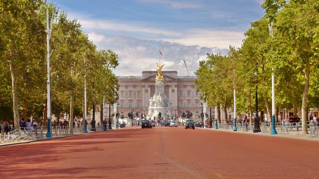 buckingham palace. london. - image stock videos & royalty-free footage