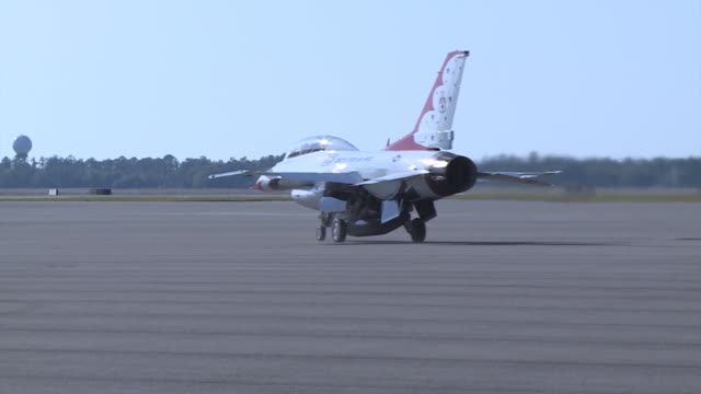 Bucks Wide receiver Vincent Jackson flies with the Thunderbirds over MacDill AFB