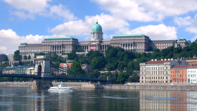 buda castle - budapest, hungary. - royal palace of buda stock videos & royalty-free footage