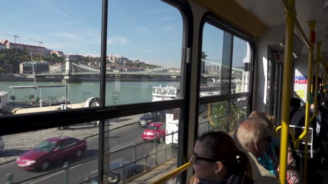 vidéos et rushes de budapest by tram - culture hongroise