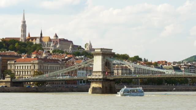 Budapest Danube River And Danube River