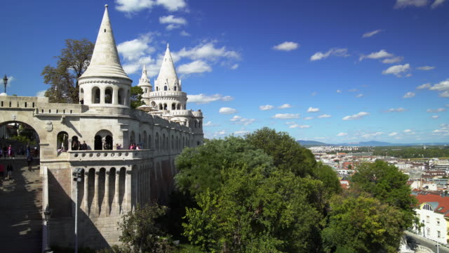 budapest fisherman's bastion - fisherman stock videos & royalty-free footage