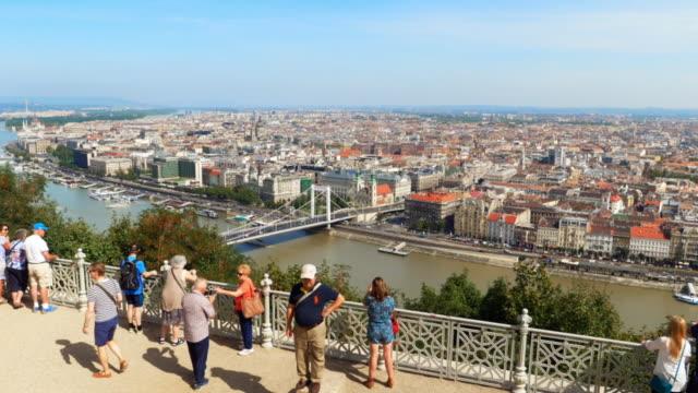 Budapest Gellert Hill Viewpoint Cinemagraph