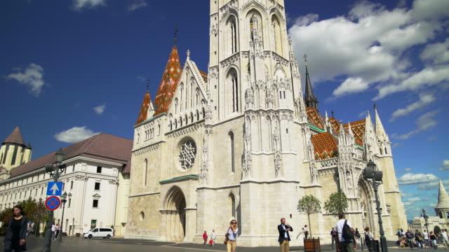 Budapest Matthias Church on the Fisherman's Bastion