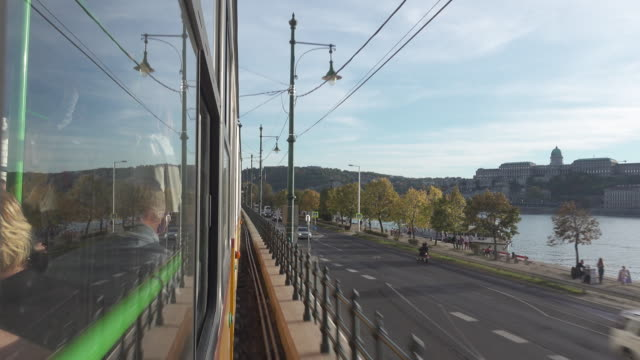 Budapest tram point of view