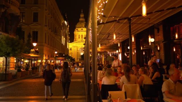 Budapest Zrínyi Utca At Night