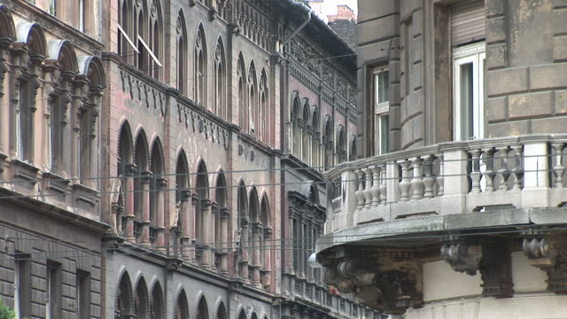 budapestclose view of buildings in budapest hungary - traditionally hungarian stock videos & royalty-free footage