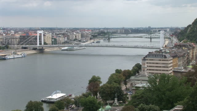 budapestdanube river in budapest hungary - traditionally hungarian stock videos & royalty-free footage