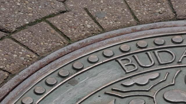 Budapesti grate on Vorosmarty ter, Budapest, Hungary, Europe