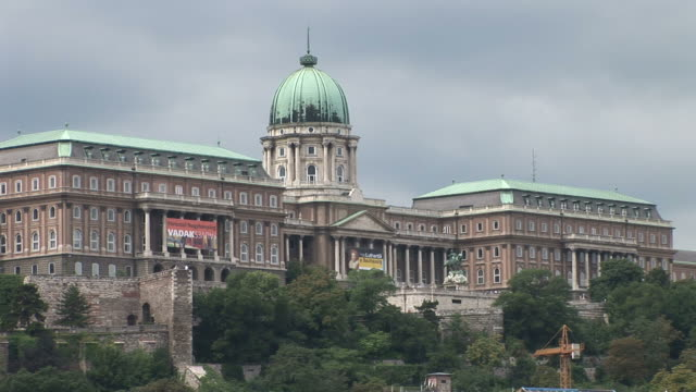budapestroyal palace in budapest hungary - traditionally hungarian stock videos & royalty-free footage