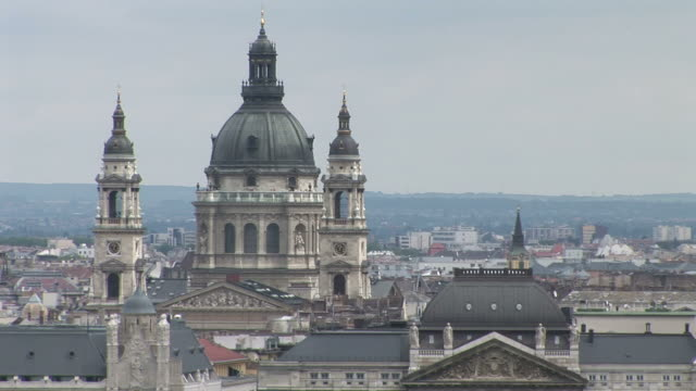 budapestsaint stephen's basilica in budapest hungary - traditionally hungarian stock videos & royalty-free footage