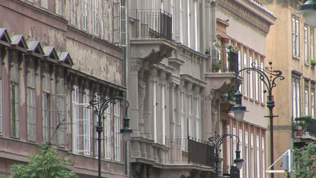 budapestview of buildings in budapest hungary - traditionally hungarian stock videos & royalty-free footage