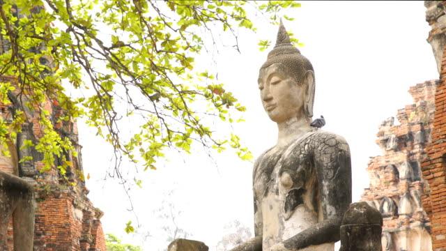 ZO, Buddha image Statues in Ayutthaya, Thailand