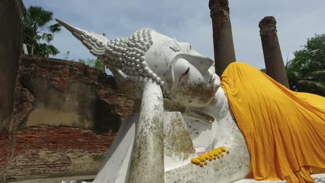 Buddha Statue at Ayuthaya, Thailand