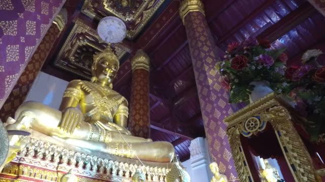 Buddhastaty på Ayuthaya, Thailand