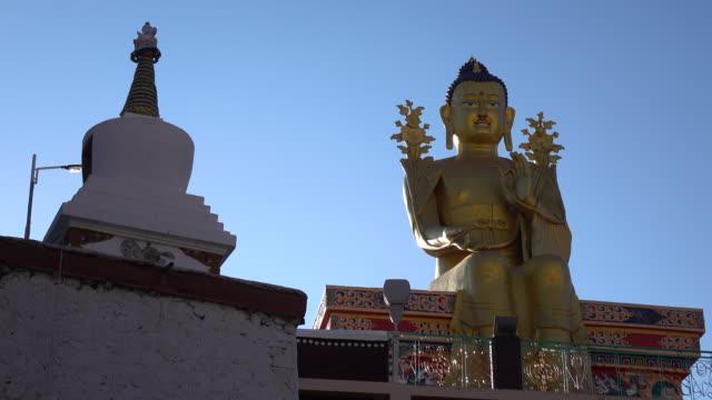 Buddha statue in Likir monastery, Leh Ladakh, Jammu and Kashmir, India