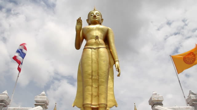 buddha statue - songkhla province stock videos and b-roll footage