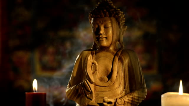 buddha statue - zen like stock videos & royalty-free footage
